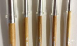 Arches Pure Kolinsky Sable Round brushes (from, each)
