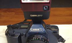The Canon T70 is ideal for the for the amateur and fan