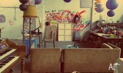 ART STUDIO MELBOURNE $48/wk MONTH BY MONTH LEASE