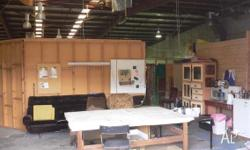 Artists Studio spaces available 1st floor of large