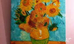 ARTWORK sunflowers VINCENT VAN GOGH replica Medium
