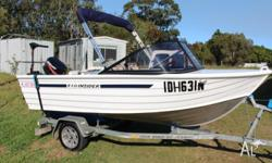 As new, immaculate with under 3 hrs use. Allycraft 30