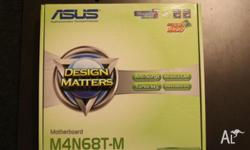 AS NEW ASUS M4N68T-M AM3 DDR3 NVIDIA Geforce