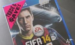 AS NEW - Fifa14 Fifa 14 on PS4 Used once and havent had
