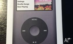 AS NEW+IN BOX!!! iPod Classic 7th Gen 160GB - GREY Up