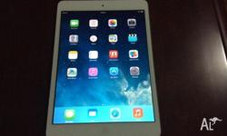 As new ipad mini white 16 GB WIFI only. No mark on it.