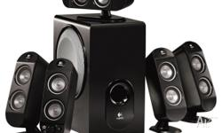 As New Logitech X-530 5.1CH Surround Sound PC or TV.
