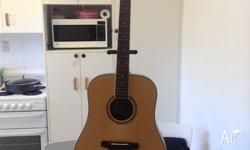 Aston acoustic guitar, great for people who are