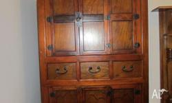 A beautiful Asian-style storage cabinet in very good