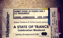 Have one hardcopy genuine sydney ticket for sale