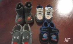 4 pairs of baby shoes. Want gone altogether. Pick up
