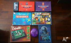 Board games Mind Trap - $5 Balderdash - $15 each