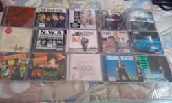 For sale are 15 music cds for $20 the lot