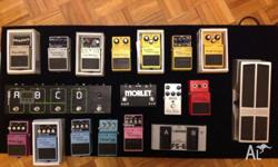 UPDATED! Hi there, selling some pedals that I no longer