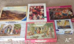10 Jigsaw puzzles all complete and in excellent