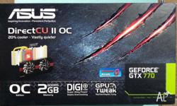 The cards are 14 months old. Asus offer a 3 year