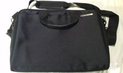 $40 for Black ASUS brand laptop bag with multiple