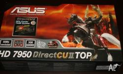 2x Asus Radeon 7950 DCU2 Top Video Cards for sale with