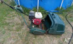 I am offering an ATCO Reel Mower for sale. It has a 17