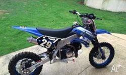 For sale! Atomik 125 dirt bike, great condition, well