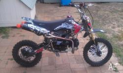 Here is my atomik 125 pit bike. ive recently just