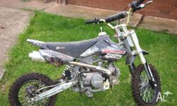 This Pit Bike needs to be sold. It is no longer used,
