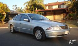 2001 Fairmont ghia. Runs excellent on petrol and LPG.
