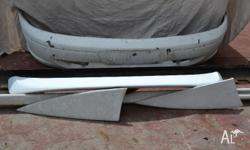 AU Ford WHITE Body Kit Spolier,front and back