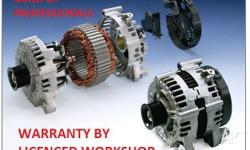 LARGE RANGE OF ALTERNATORS & STARTERS FROM $125 MANY