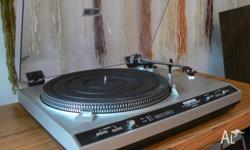 A R 8200 turntable in excellent working order. It is in