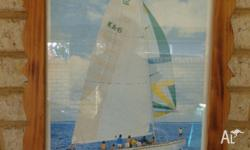 Picture of Australia II winner America's Cup 1983