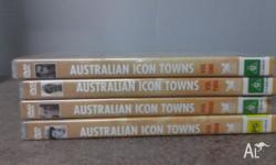 DVD's about our Australian Icon Towns.... Volumes 1, 2,