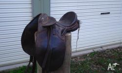 australian made stock saddle