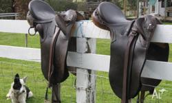 2 handmade, Australian made stock saddles, good