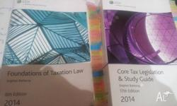 Tax Law book for sale with legislation contact