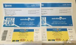 2 Tickets to Australian Tennis Open for Rod Laver