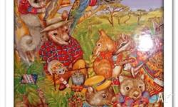""" Australiana "" Bush Friends 96 Pce Jigsaw In Excellent"