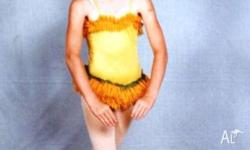 Costume: Wattle with Hat: Child Size 7 - 8 Yrs old