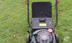Great mower, starts straight up, great condition but