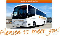 Going to Melbourne but flying to Avalon? Bus transfers