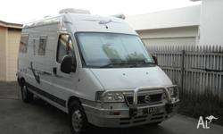 Fiat Ducato 2.8l diesel, 5 speed manual, 38k, B Class,