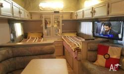 Beautiful compact van, 18ft, with 2 single beds. Very