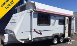 EXCELLENT VALUE!!! A Pop-Top caravan with a shower and