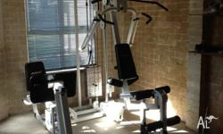 Avanti home gym station for sale. Comes in two