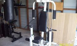 Avanti home gym for sale.. You can work chest, arms,