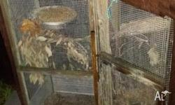 For sale hexagon aviary make a offer please message me