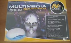 Brand new sealed in box. With the AVlabs Audacity