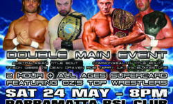 AWF MAYNIA LIVE EVENT IN PARRAMATTA TICKETS SELLING
