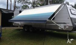 A CARAVAN AWNING THIS AWNING IS IN GREAT CONDITION HAS
