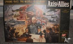 Complete Axis and Allies: Spring 1942 Board Game.